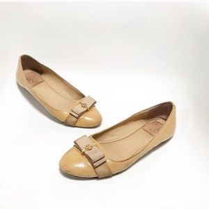 Tory Burch. Trudy slip on flats. Patent leather